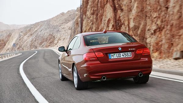 BMW 3 Series Rear Wallpaper